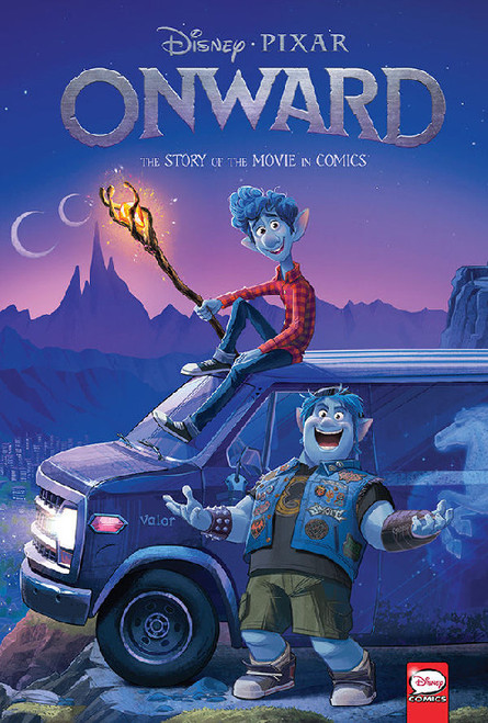 DISNEY PIXAR ONWARD THE STORY OF THE MOVIE IN COMICS HC