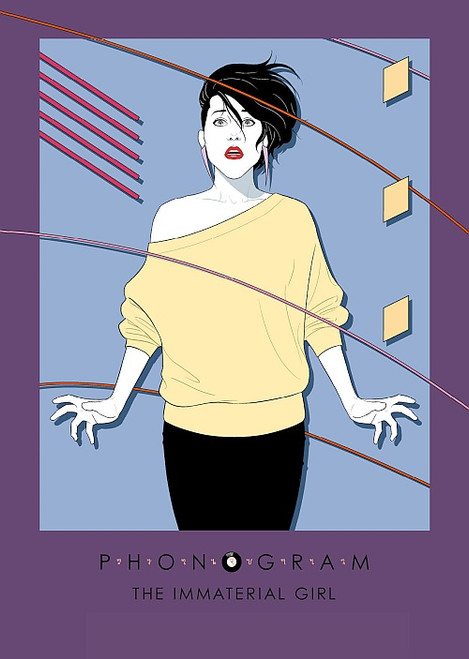 PHONOGRAM PRINT BY JAMIE MCKELVIE