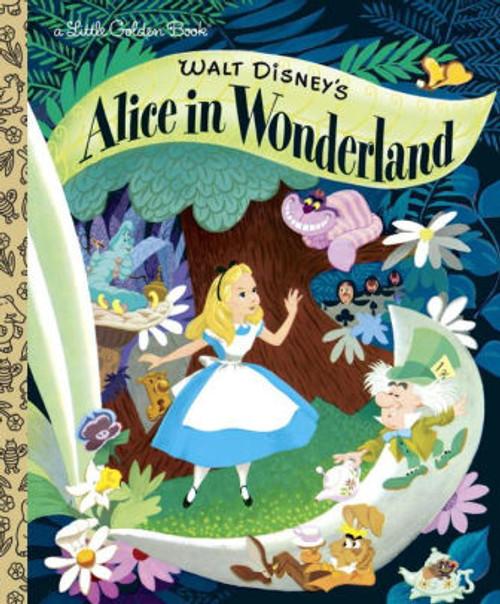 ALICE IN WONDERLAND LITTLE GOLDEN BOOK NEW ED