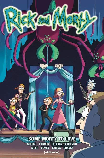 RICK & MORTY TP VOL 06 SOME MORTY TO LOVE