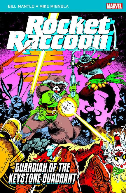 ROCKET RACCOON GUARDIAN OF THE KEYSTONE QUADRANT POCKETBOOK