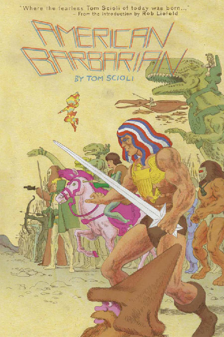 AMERICAN BARBARIAN COMPLETE TP