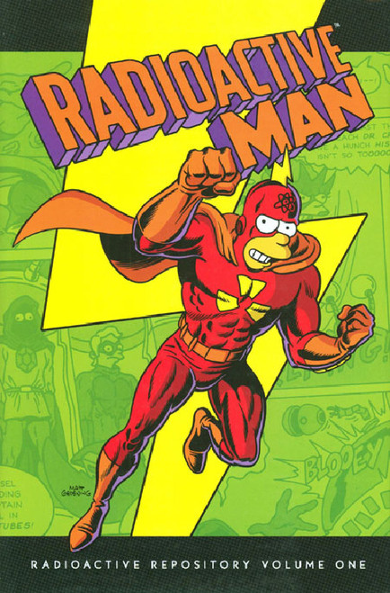 SIMPSONS RADIOACTIVE MAN HC