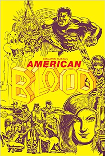 AMERICAN BLOOD SC BOOKPLATE EDITION