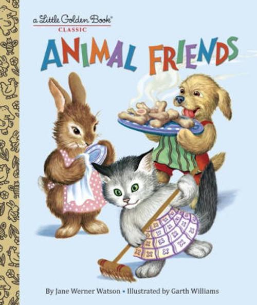 ANIMAL FRIENDS LITTLE GOLDEN BOOK