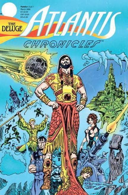 AQUAMAN DLX HC CHRONICLES OF ATLANTIS