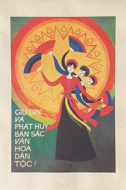 VIETNAMESE PROPAGANDA PRINT PRESERVING AND PROMOTING ETHNIC DIVERSITY