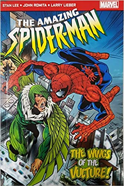 AMAZING SPIDER-MAN WINGS OF THE VULTURE POCKETBOOK