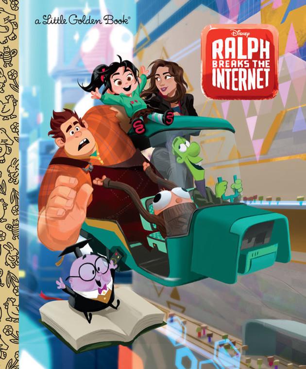WRECK IT RALPH 2 INTERNET LITTLE GOLDEN BOOK