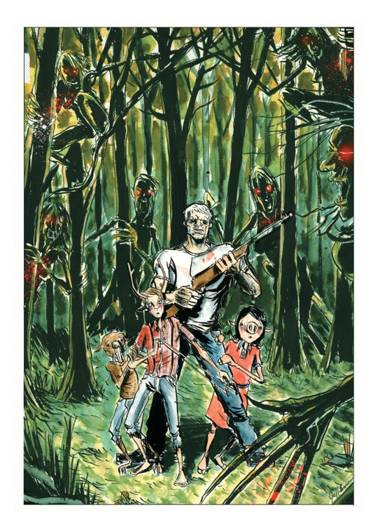 WYTCHTOOTH PRINT BY JEFF LEMIRE