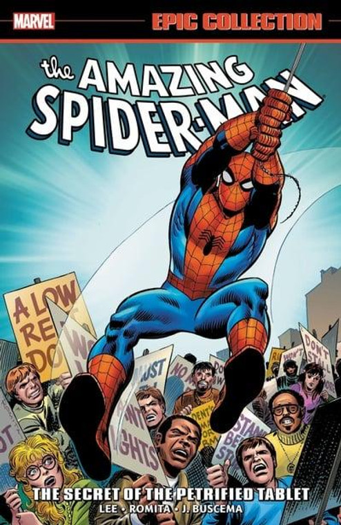 AMAZING SPIDER-MAN EPIC COLLECTION TP SECRET OF THE PETRIFIED TABLET