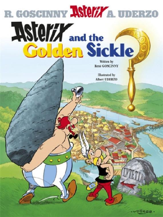 ASTERIX VOL 02 GOLDEN SICKLE SC