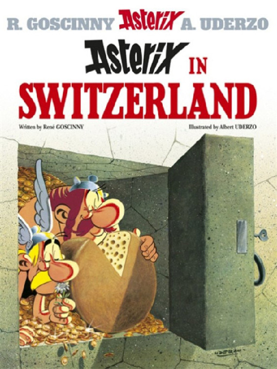 ASTERIX VOL 16 SWITZERLAND SC