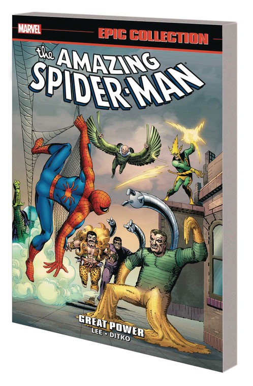 AMAZING SPIDER-MAN EPIC COLLECTION TP GREAT POWER (NEW PRINTING)
