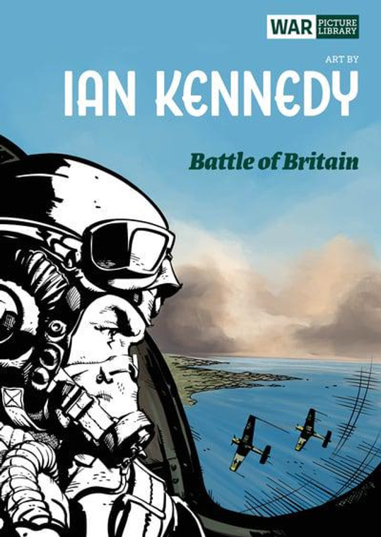 BATTLE OF BRITAIN TP WAR PICTURE LIBRARY BY IAN KENNEDY
