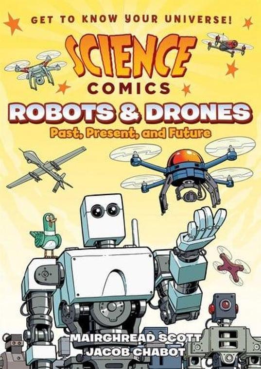 SCIENCE COMICS ROBOTS & DRONES SC