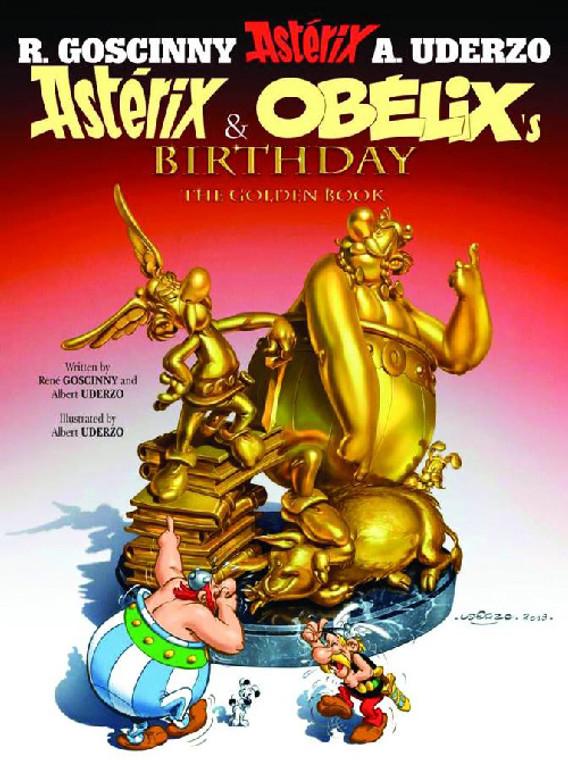 ASTERIX VOL 34 ASTERIX & OBELIX'S BIRTHDAY