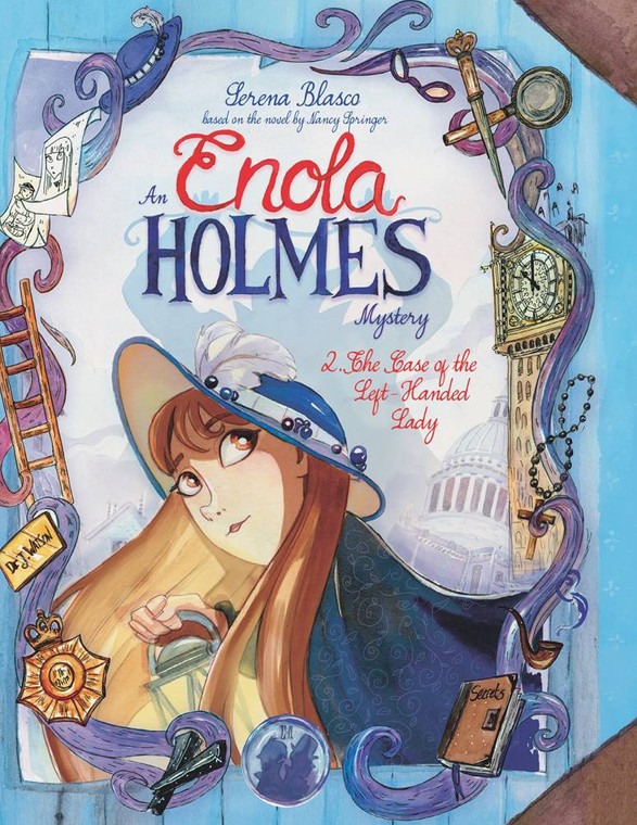 ENOLA HOLMES HC VOL 02 THE CASE OF THE LEFT-HANDED LADY