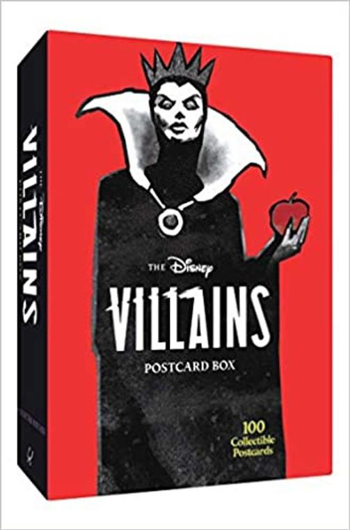 DISNEY VILLAINS POSTCARD BOX