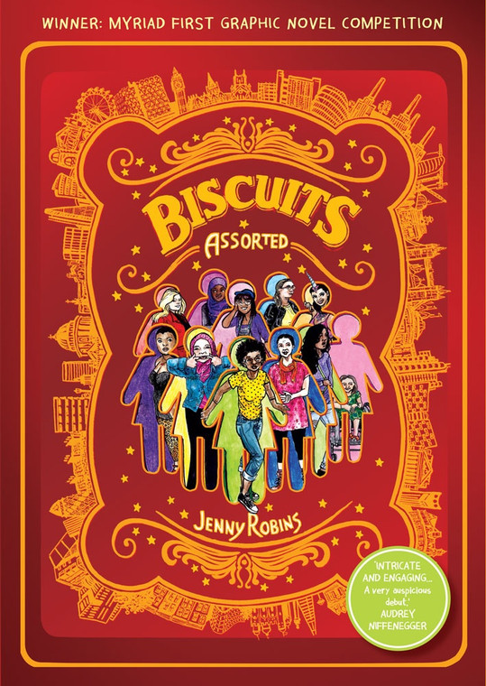 BISCUITS (ASSORTED) SC SIGNED BY JENNY ROBINS