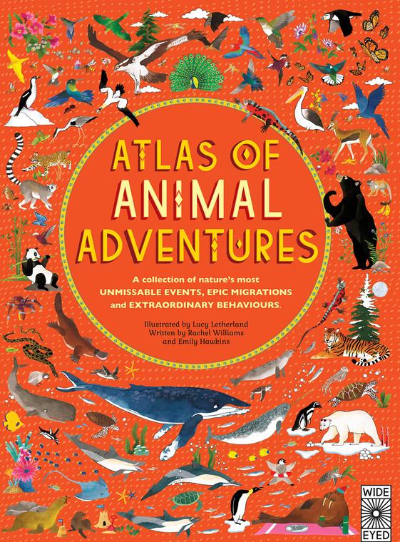 ATLAS OF ANIMAL ADVENTURES HC