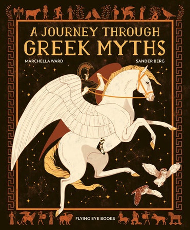 A JOURNEY THROUGH GREEK MYTHS HC