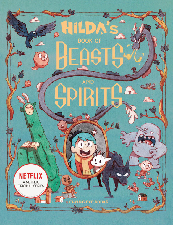 HILDA'S BOOK OF BEASTS AND SPIRITS HC