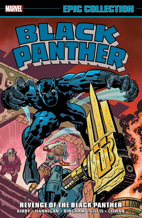 BLACK PANTHER EPIC COLLECTION TP REVENGE OF THE BLACK PANTHER (NEW PTG)