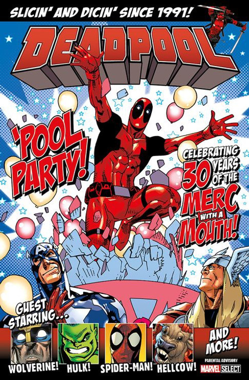 DEADPOOL POOL PARTY TP