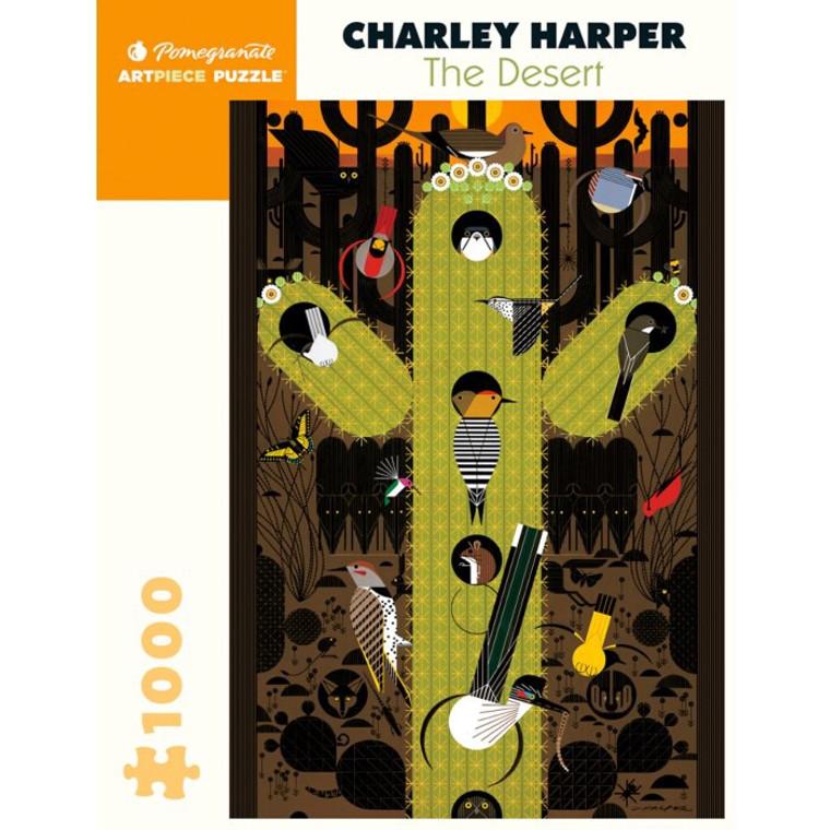 CHARLEY HARPER THE DESERT 1000 PIECE PUZZLE