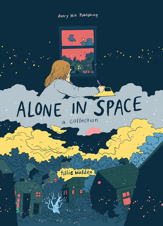ALONE IN SPACE A COLLECTION HC BOOKPLATE EDITION