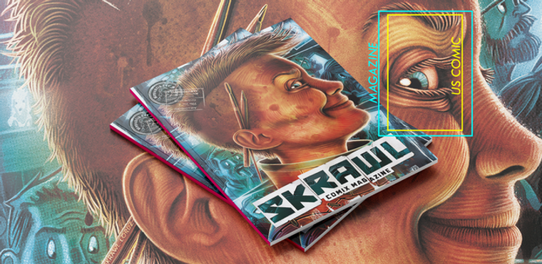 SKRAWL COMIX  MAGAZINE #1