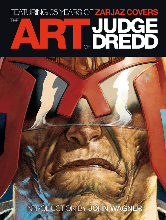 ART OF JUDGE DREDD HC