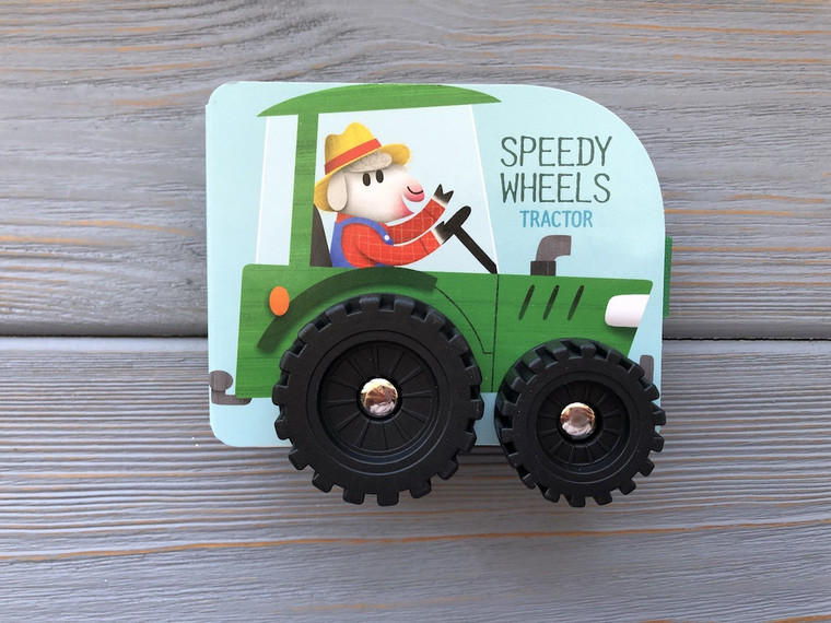 SPEEDY WHEELS TRACTOR BOARD BOOK