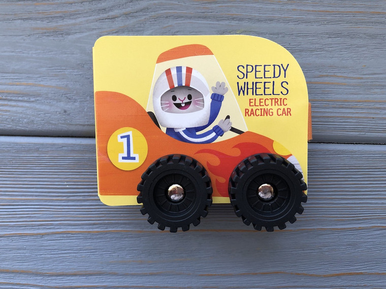 SPEEDY WHEELS ELECTRIC RACING CAR BOARD BOOK