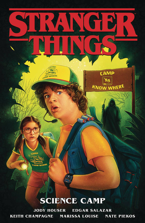 STRANGER THINGS TP VOL 04 SCIENCE CAMP