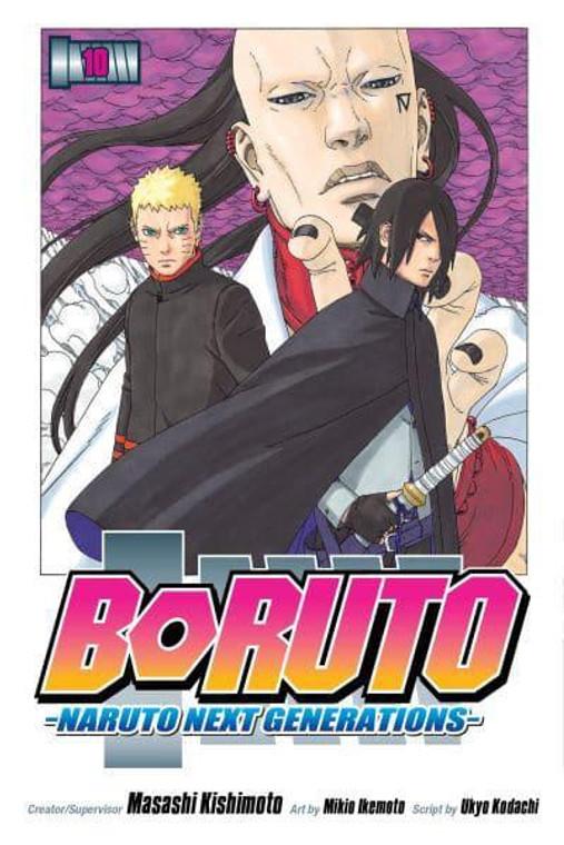 BORUTO VOL 10