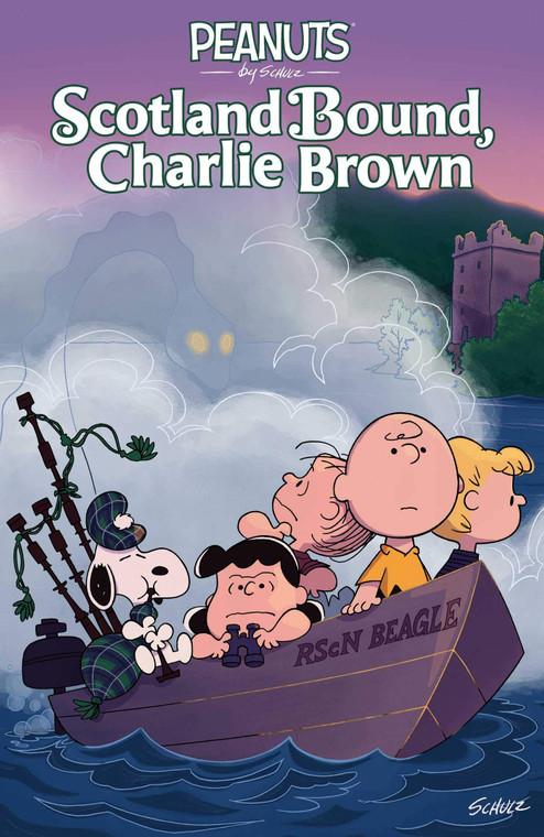 PEANUTS SCOTLAND BOUND CHARLIE BROWN GN
