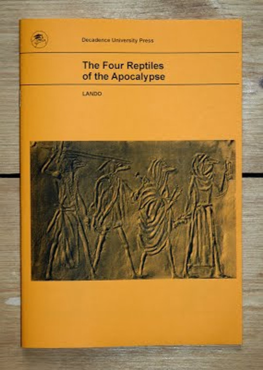 FOUR REPTILES OF THE APOCALYPSE