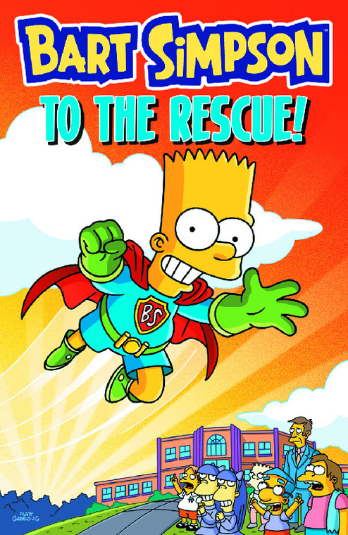 BART SIMPSON TO THE RESCUE TP