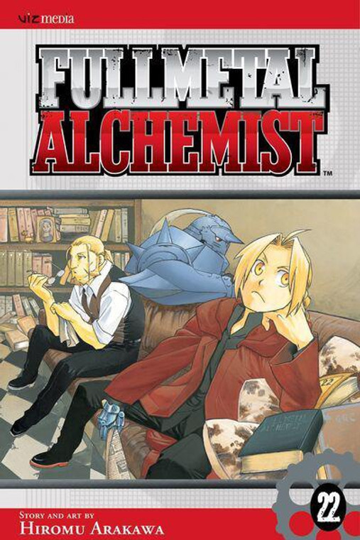 RECYCLED - FULLMETAL ALCHEMIST VOL 22