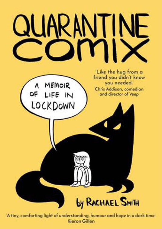 QUARANTINE COMIX GN SIGNED BY RACHAEL SMITH