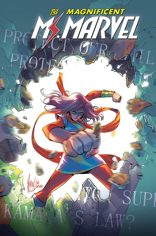 MS MARVEL BY SALADIN AHMED TP VOL 03