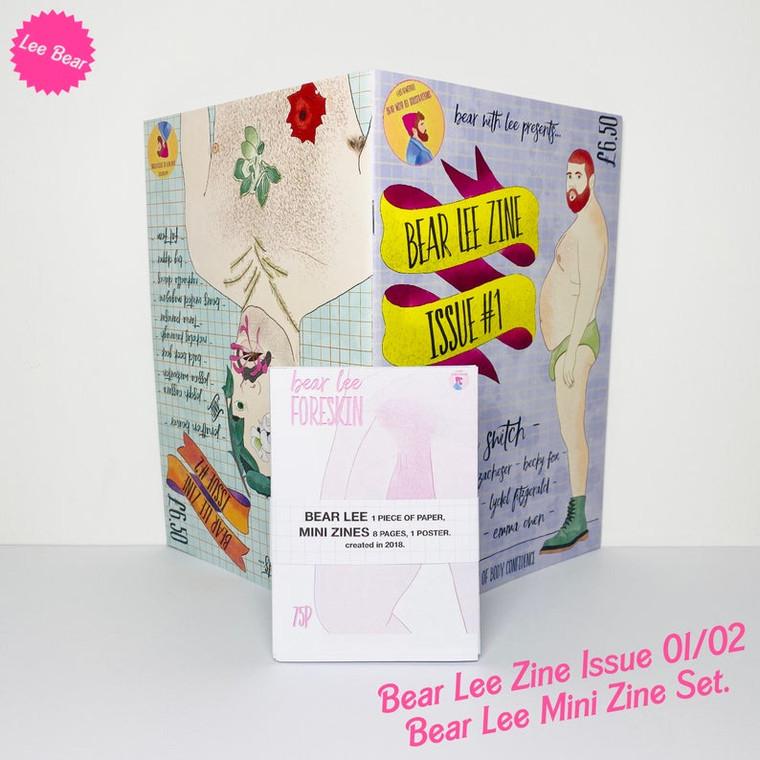 BEAR LEE ZINE ISSUE 01&02
