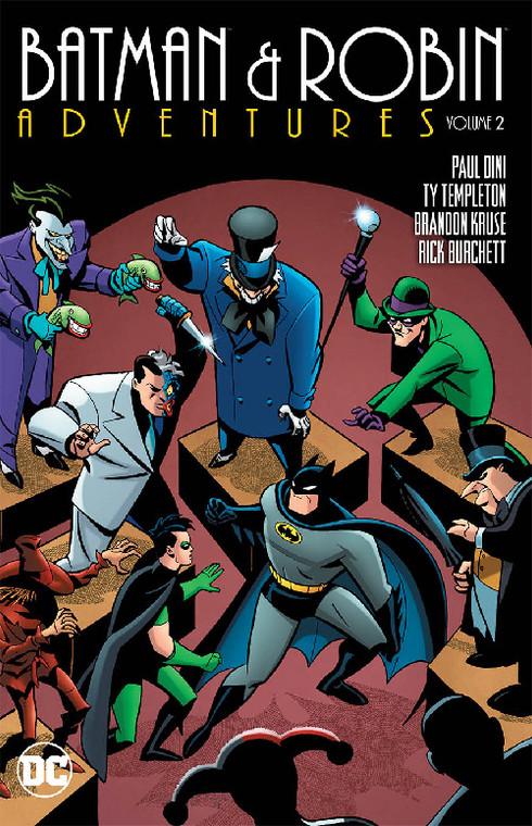 BATMAN & ROBIN ADVENTURES TP VOL 02