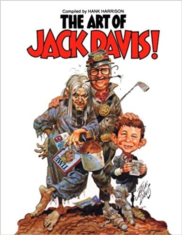 ART OF JACK DAVIS  (TORN DUST JACKET)