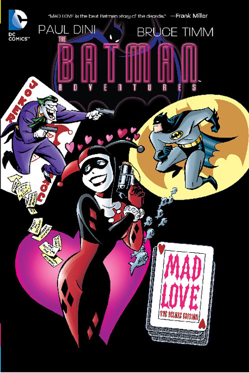 BATMAN ADVENTURES MAD LOVE HC