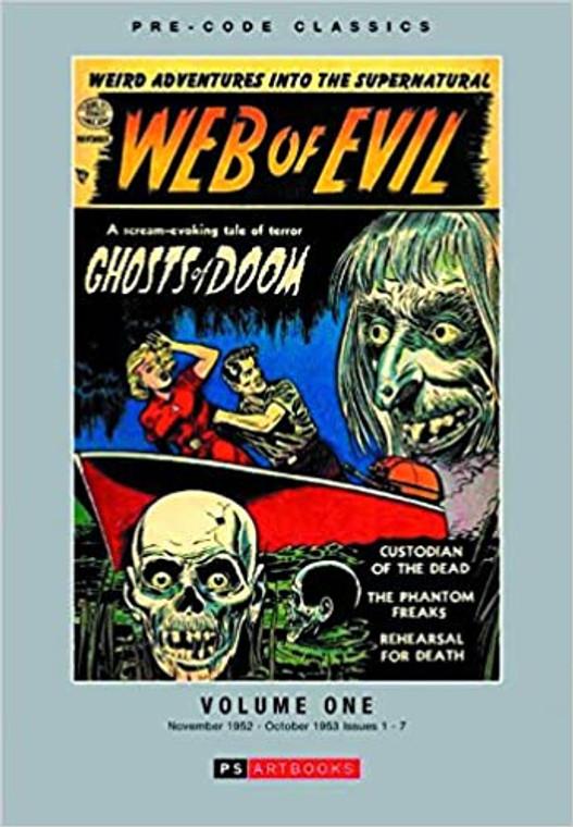 WEB OF EVIL HC VOL 01