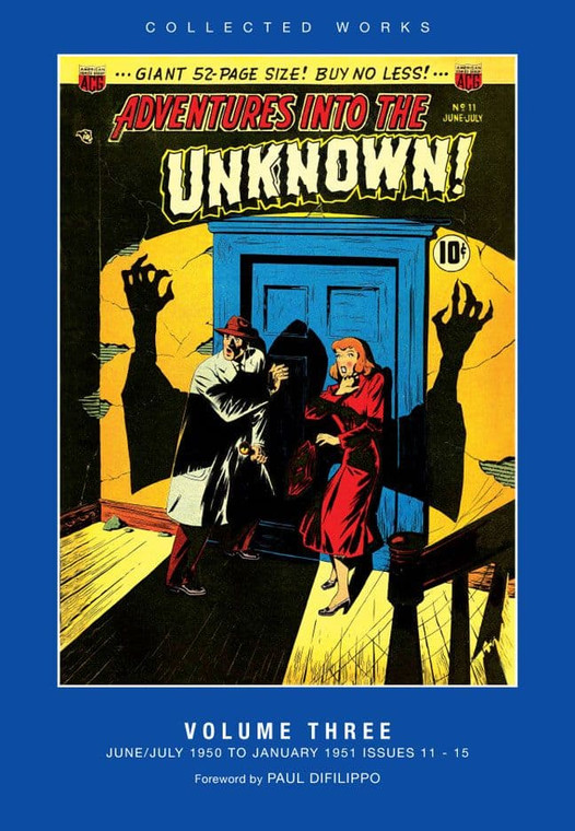 ADVENTURES INTO THE UNKNOWN HC VOL 03