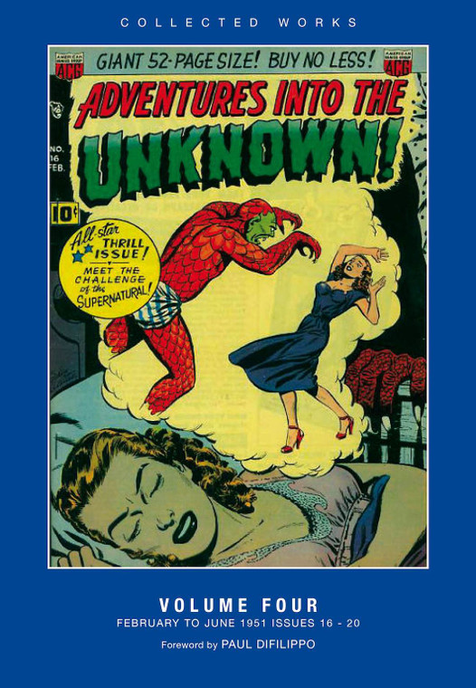 ADVENTURES INTO THE UNKNOWN HC VOL 04